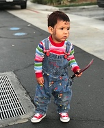 Chucky Child Homemade Costume