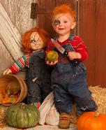 Homemade Chucky Baby Costume