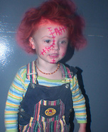 Homemade Chucky Costume for Kids