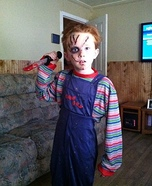 Chucky Halloween Costume for Boys