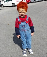 DIY Toddler Chucky Costume