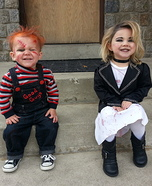 Chucky and Bride of Chucky Costumes for Kids