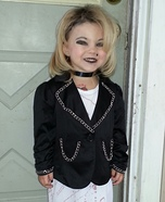 Halloween costume ideas for girls: Chucky and Bride of Chucky Costumes for Kids