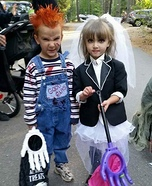 Chucky and Bride of Chucky Homemade Costume