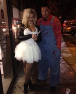 Chucky and Bride of Chucky Couple's Costume