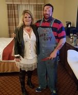 Chucky and Bride of Chucky Couple Homemade Costume