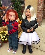 Chucky and Chucky's Bride Homemade Costume