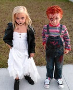 Chucky and his Bride Homemade Costume