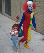 Chucky and It the Clown Homemade Costumes
