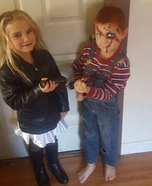 Chucky and the Bride of Chucky Homemade Costume