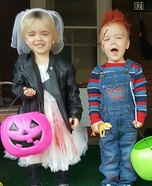 Chucky and Tiffany Homemade Costume