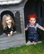Chucky and Tiffany Homemade Costume