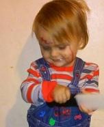 Chucky Baby Costume DIY