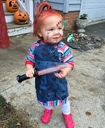 Chucky Baby Homemade Costume