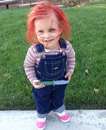Chucky Baby Homemade Halloween Costume