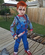 Chucky Homemade Costume for Boys