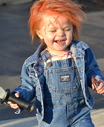 Costume ideas for baby's first Halloween - Chucky Doll Baby Costume