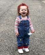 Chucky Doll Baby Halloween Costume Idea