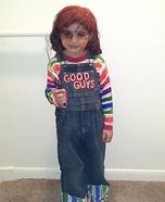 DIY Chucky Doll Costume