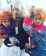 Chucky Family Homemade Costume