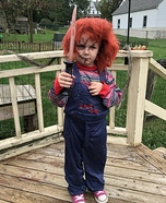 Chucky Girl Homemade Costume