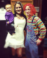 Chucky, his Bride and Seed of Chuck Costume