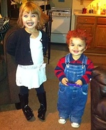 Chucky & Bride Homemade Costumes