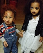 Chucky & Bride Homemade Costume