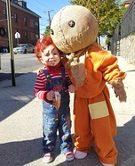 Chucky & Sam Homemade Costume
