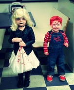 Chucky & the Bride Homemade Costume
