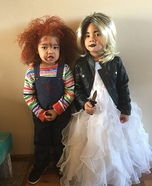 Chucky & the Bride of Chucky Homemade Costume