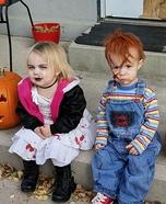 Chucky & Tiffany Homemade Costume