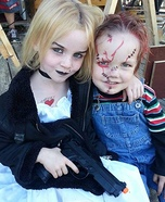 Chucky & Tiffany Homemade Costume