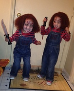Chucky Twin Dolls Homemade Costume
