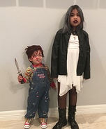 Chucky with Bride Homemade Costume