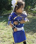 Chun Li from Street Fighter Homemade Costume