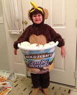 Chunky Monkey Ice Cream Homemade Costume