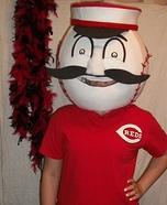 Cincinnati Reds Mascot Costume
