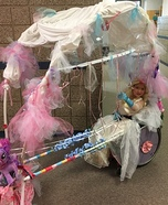 Wheelchair Cinderella Costume
