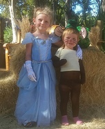 Cinderella and Gus Gus Homemade Costume