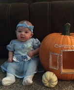 Cinderella and her Carriage Baby Costume