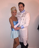 Cinderella and Prince Charming Homemade Costume