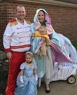 Cinderella Family Homemade Costume