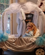 Cinderella in her Carriage Homemade Costume