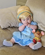 Cinderella & Gus Gus Homemade Costume