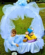 Cinderella & Gus's Royal Ride Homemade Costume