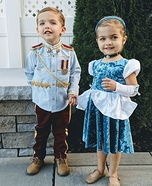 Cinderella & Prince Charming Homemade Costume