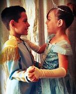 Cinderella & the Prince Homemade Costume