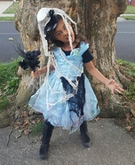 Cinderella Zombie Bride Homemade Costume