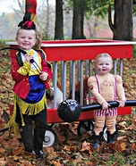 Circus Act Kids Homemade Costume